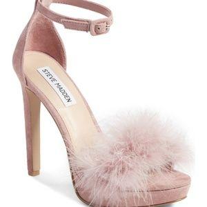Steve Madden Clutch Platform Heels Sandals 8.5